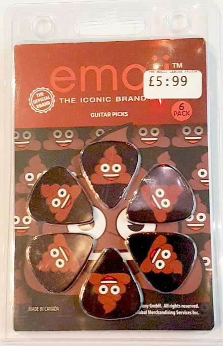 Emoji 'Poop'  Picks 6 Pack (official brand)